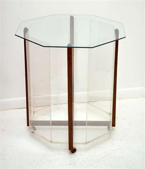 terrarium coffee table at 1stdibs octagon terrarium table at 1stdibs