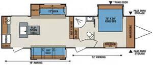 cer floor plans travel trailer spree 174 339rk lightweight travel trailer k z recreational