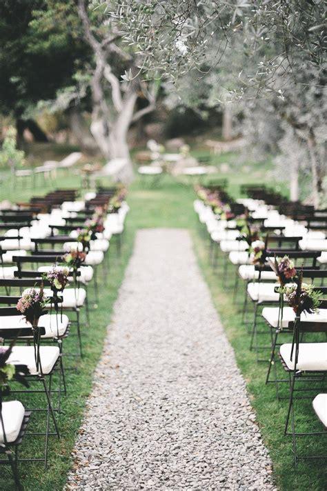 Wedding Ceremony Ideas Romantic Decoration Simple Garden Wedding Ideas