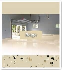 Garage Floor Paint Beige Basecoat Colors