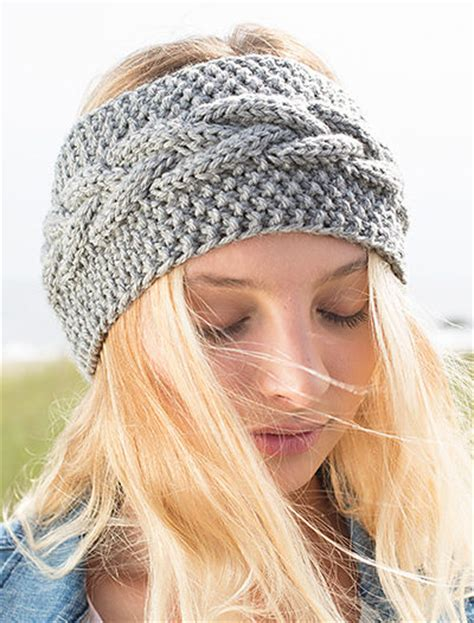 knitted headbands pattern with button earwarmer headband knitting patterns in the loop knitting