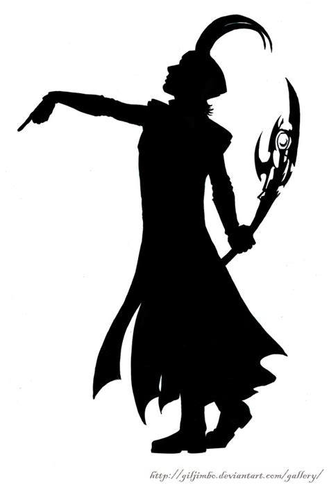 loki s silhouette by giljimbo on deviantart
