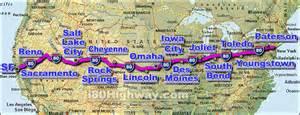 us highway map i 80 i 80 interstate 80 road maps traffic news