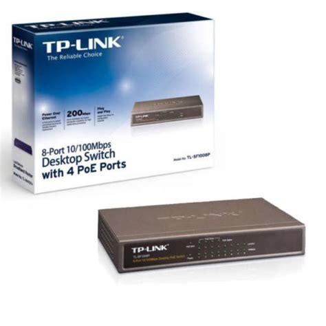 Tp Link Desktop Switch 8 Port 10100mbps tp link tl sf1008p 8 port 10 100mbps desktop switch