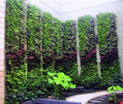 Vertical Garden Design Pdf Galery Taman Moderntaman Modern Green Living Solution
