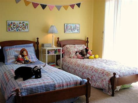 boy and girl shared bedroom ideas little lovables vintage linen springtime nursery