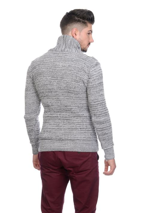 Sweater Hoodie Jumper Leonel Messi Almira Collection new leo messi mens cowl turtle neck contrast jumper sweater top black grey ebay