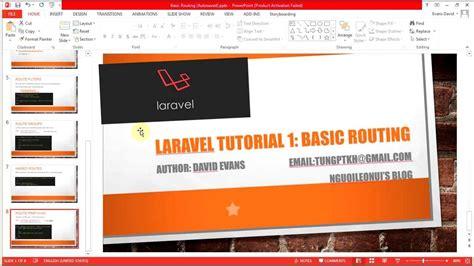 laravel email tutorial laravel tutorial 1 basic routing hướng dẫn học laravel