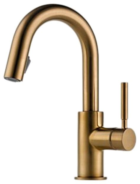 restaurant kitchen faucet brizo 63920lf bz solna brushed bronze pull bar faucet