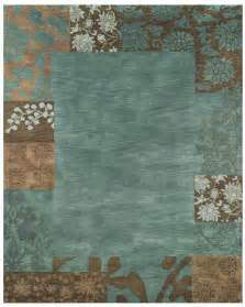 Brown And Teal Area Rugs Teal And Brown At Rug Studio