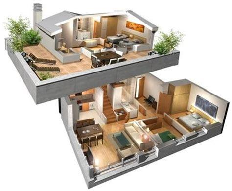 planos de casas en 3d planos en 3d de casas de 4 dormitorios buscar con salas grandes
