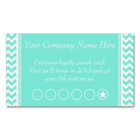 salon punch card template 1653 best images about chevron zigzag business cards on