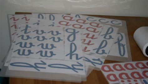 lettere mobili come si costruiscono gli alfabeti mobili montessori free