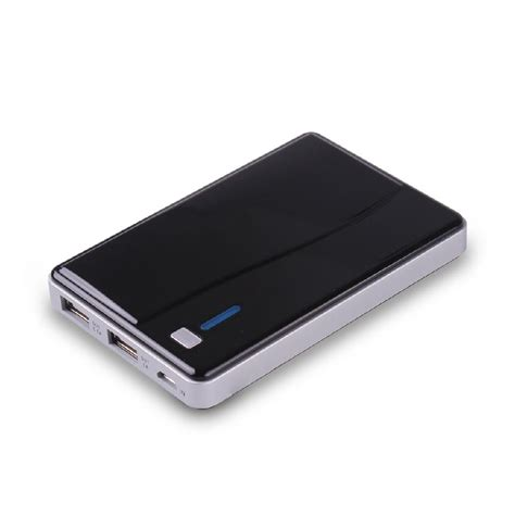 Power Bank Polymer power bank ultra thin touch with polymer polymer battery for any mobile newest yj 12 oem