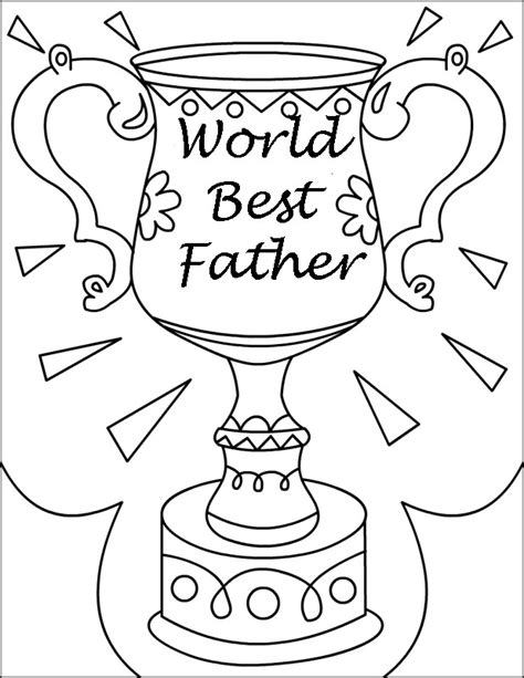 fathers day coloring pages kids az coloring pages