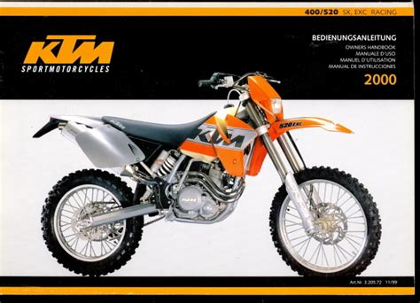 2002 Ktm 400 Exc Review 2000 Ktm 400 Exc Racing Pics Specs And Information