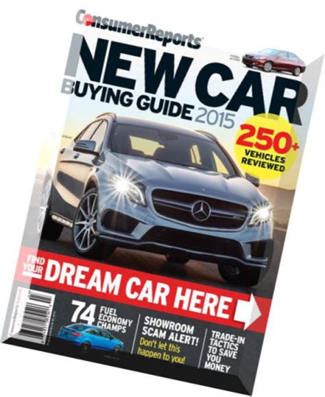 Consumer Reports Car Buying by Consumer Reports New Car Buying Guide January