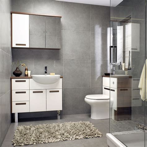 Square Grey Bathroom Tiles Guest Bath Ideas Pinterest Gray Bathrooms Ideas