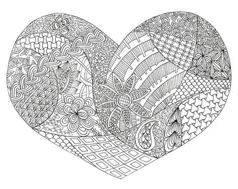 heart doodle coloring page love doodles doodle coloring pages