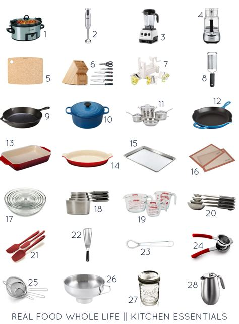 Kitchen Essentials Names Guift Guide 2015 Real Food Whole Kitchen