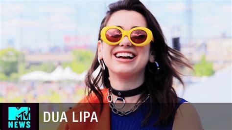 dua lipa glasses dua lipa on her new album and makeup line governors ball