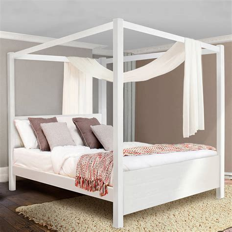 wooden four poster bed frame wooden four poster bed frame summer by get laid beds