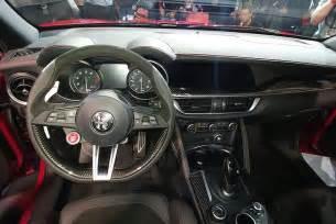 Alfa Romeo Interior 2016 La Auto Show Alfa Romeo Stelvio Sport Crossover