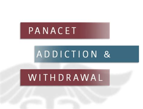 How To Detox From Tizanidine by Tizanidine Withdrawal Substance Abuse And Addiction