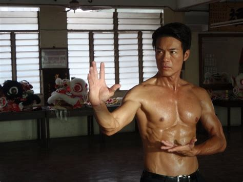 big ripped actors singapore actor zheng ge ping may be 49 but his ripped