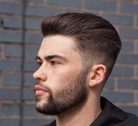 combover short sides slick back haircuts 40 trendy slicked back hair styles