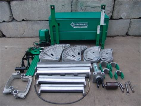 Greenlee Table Bender by Greenlee 881 Ct Hydraulic Bender 2 1 2 To 4 Inch With 980