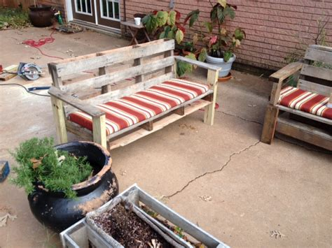 bench made from pallets 5 easy steps to turn a pallet into an outdoor patio bench
