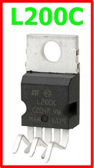 Kr04426 L200c Adjustable Voltage And Current Regulator l200c datasheet dc vi 40v adjustable regulator st