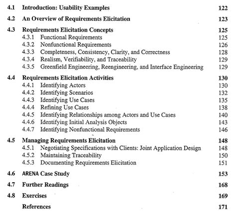 requirements elicitation template oo sw engr requirements elicitation