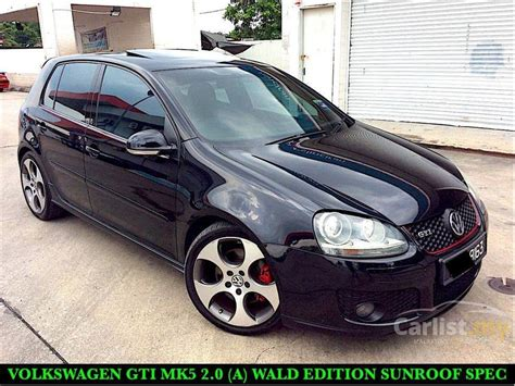 how to sell used cars 2005 volkswagen golf navigation system volkswagen golf 2005 gti 2 0 in selangor automatic hatchback black for rm 48 888 3631087