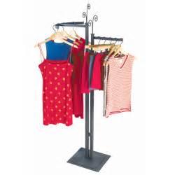 Boutique Clothing Racks Steel Clothing Rack Decorative 2 Way Clothing