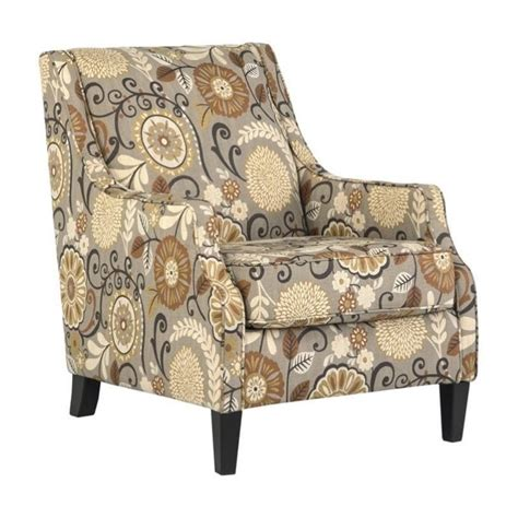accent chairs ashley furniture ashley furniture fabric ashley tailya fabric accent chair in espresso 4770021