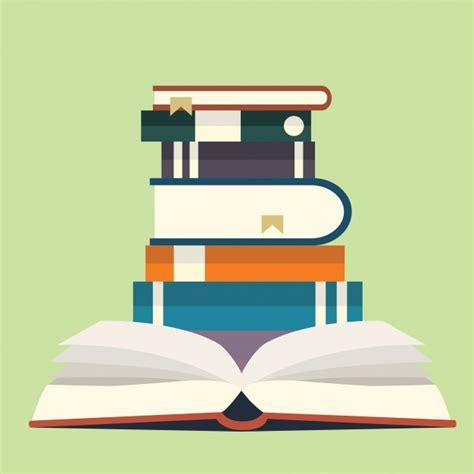 libreria gratis pila de libros descargar vectores gratis