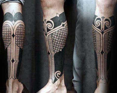 tattoo geometric thigh 50 geometric leg tattoos for men masculine design ideas