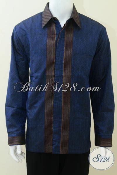 Jaket Anak Warna Biru Keren kemeja tenun sby model keren warna biru nyaman dan adem