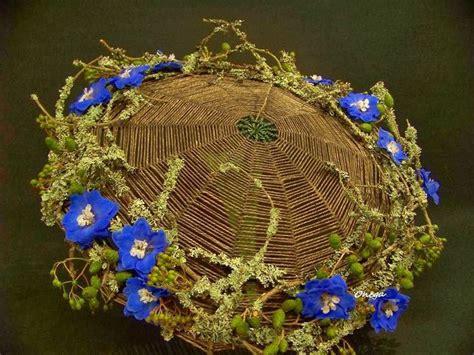 flower design umbrellas umbrella design using yarn twine rather than wire this