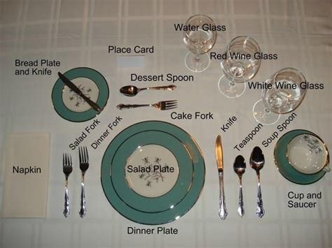 how to properly set a table proper table setting dinner party menus pinterest
