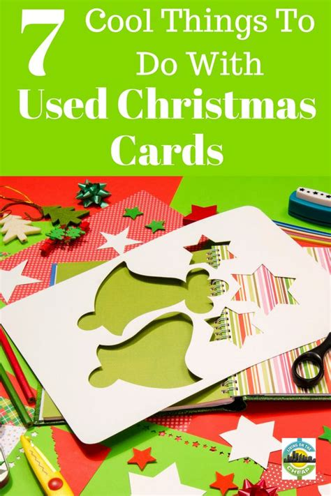 1000 ideas about recycled christmas cards on pinterest