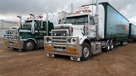 Adelaide Refrigerated Interstate Transport - trucking gallery of dennis transport s fleet across