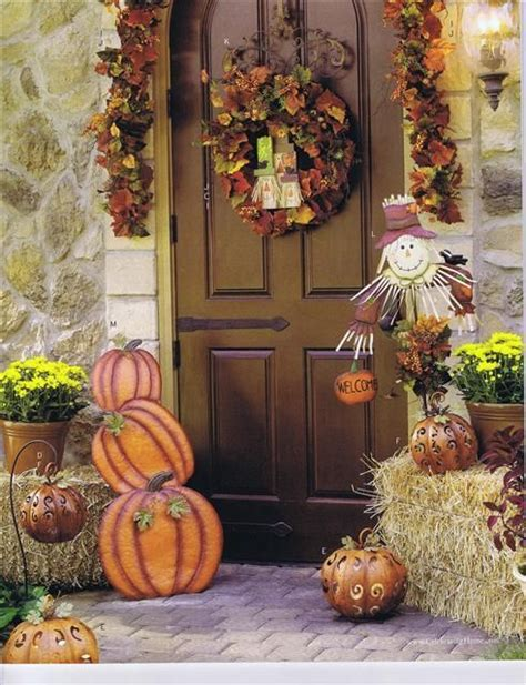 front yard fall decorating ideas 17 best images about front door fall decorating ideas on
