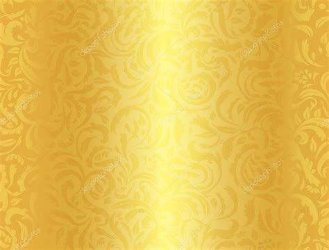 Wedding Background Golden Yellow by Luxury Golden Background With Damask Floral Pattern