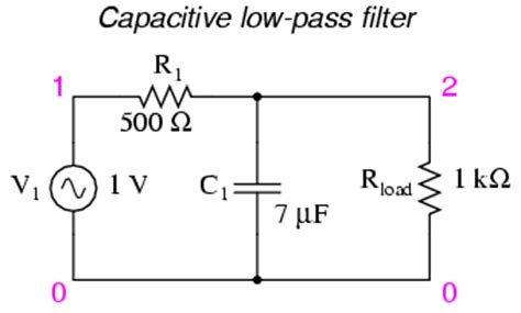 low pass filter electrolytic capacitor low pass filters alternating current