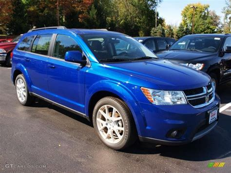 blue dodge journey blue pearl 2012 dodge journey sxt exterior photo 71990988