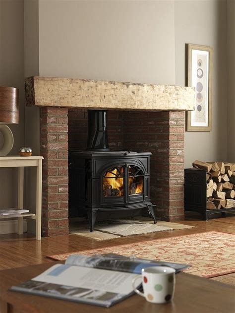 25 best ideas about wood stove wall on wood
