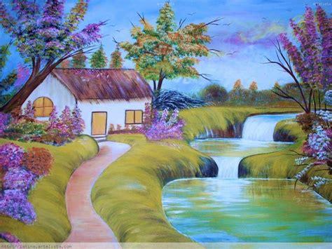 imagenes para dibujar en lienzo faciles vista tropical arte latino cxa artelista com